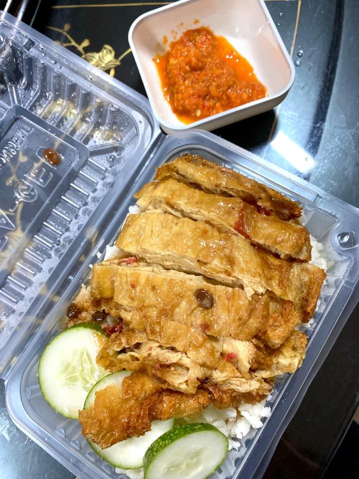 素鸡饭 99素食档