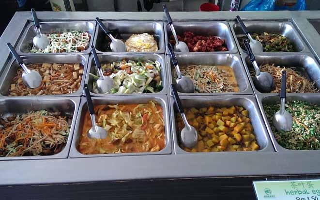 绿圆素食馆经济饭