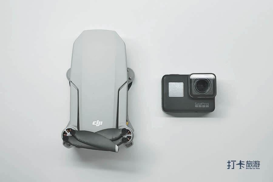 DJI Mavic Mini vs GoPro