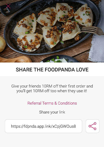 Food Panda Referral Program