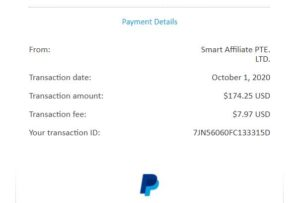 Paypal affiliate commision