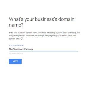注册GSuite Email