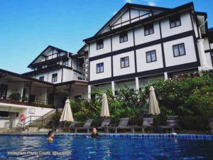 The marian swimming pool