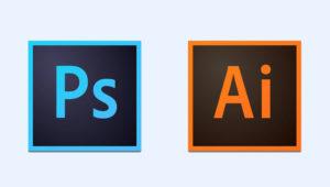 Photoshop and illustrator