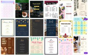 canva-menu-templates