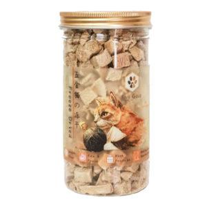 Five gold frezee dried cat