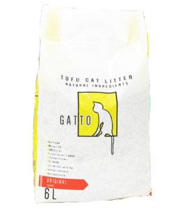 Gatto tofu cat litter