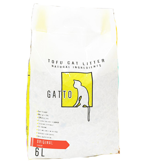 Gatto tofu cat litter