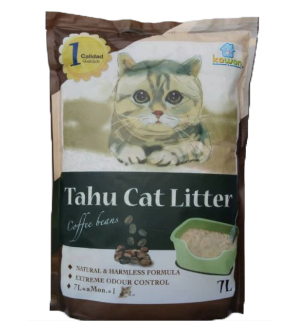 kawan tofu cat litter
