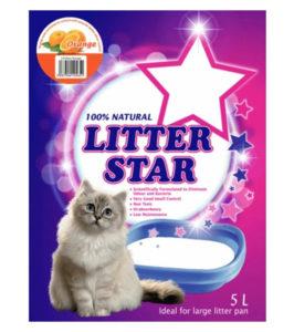 little star cyrstal cat litter