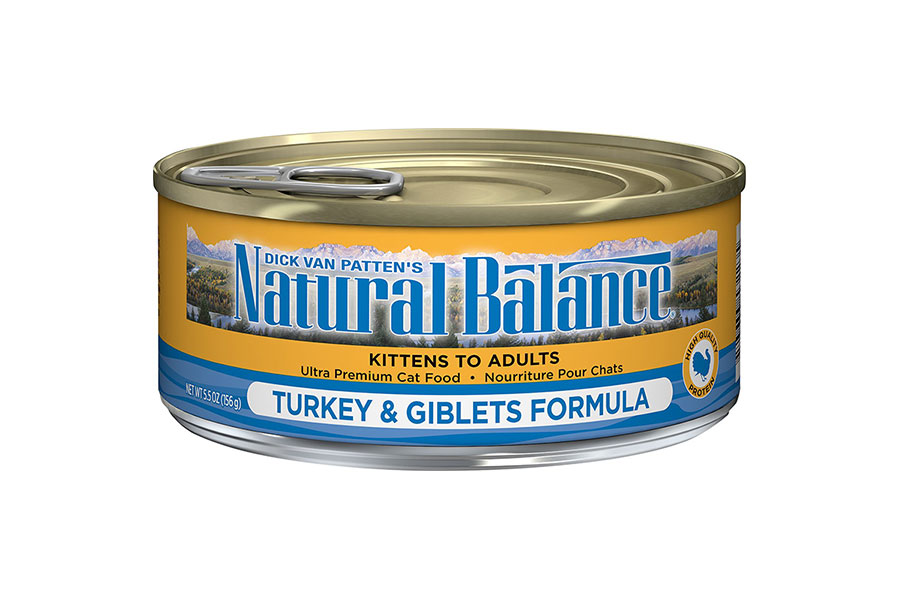 Natural balance cat canned food