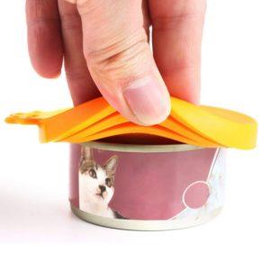 Cat food cap