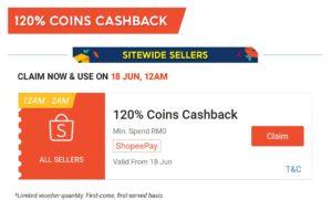 Cashback Shopee