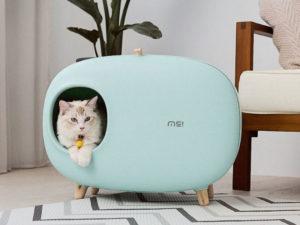 Furniture style cat litter box