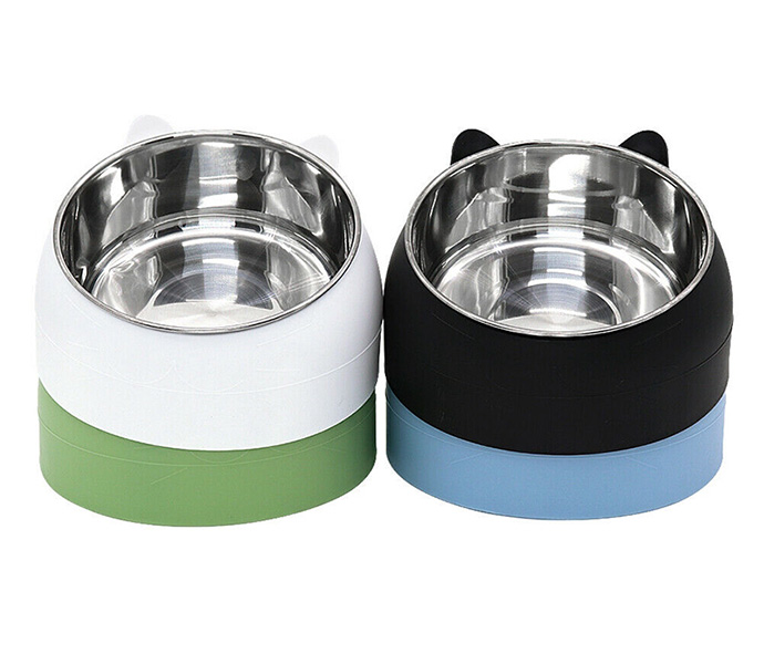 stainless steel cat bowl