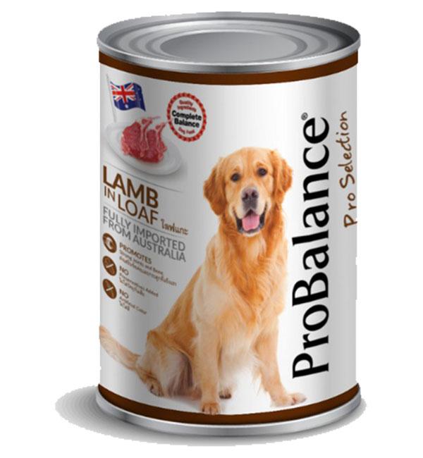 Probalance dog canned food