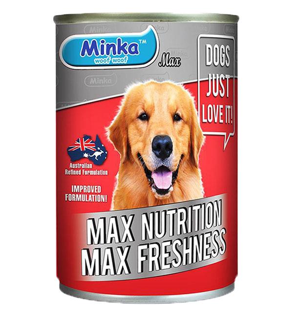 Minka Dog Canned food