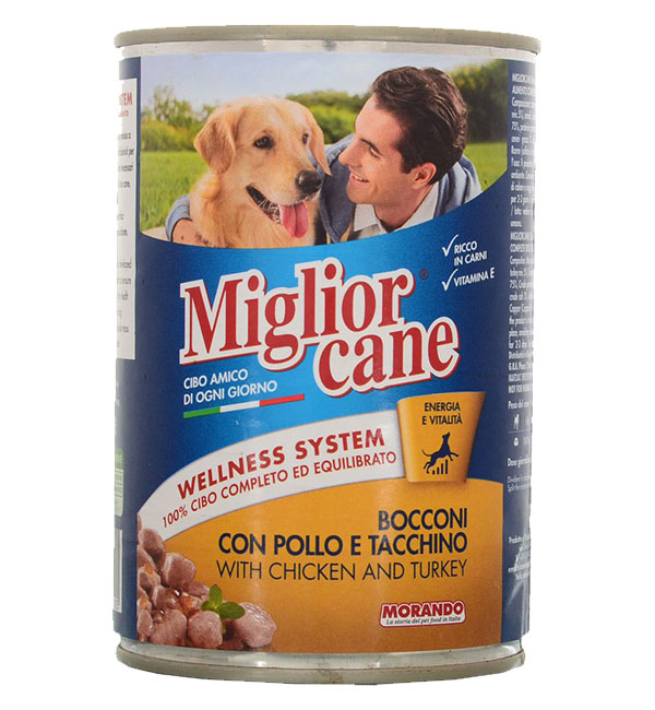Miglior cane Dog Canned food