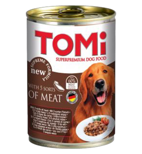 tomi Dog Canned food