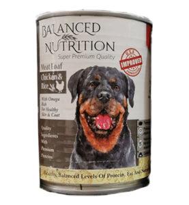 Balanced nutrition dog canned food