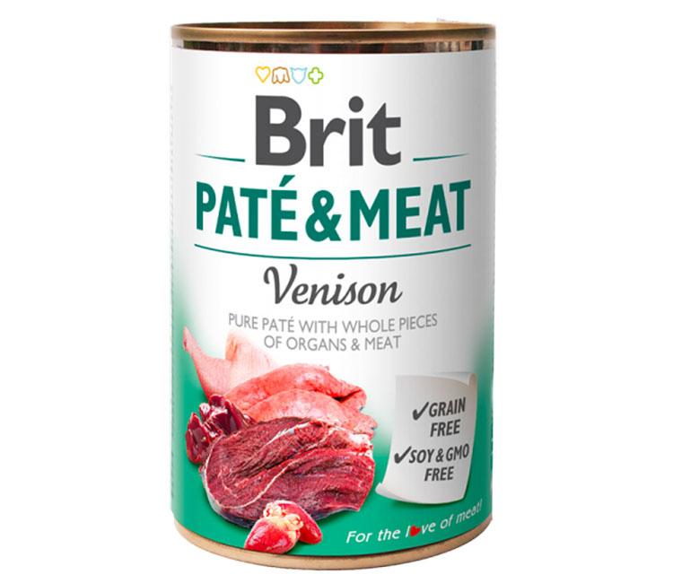 Brit Pate dog wet food