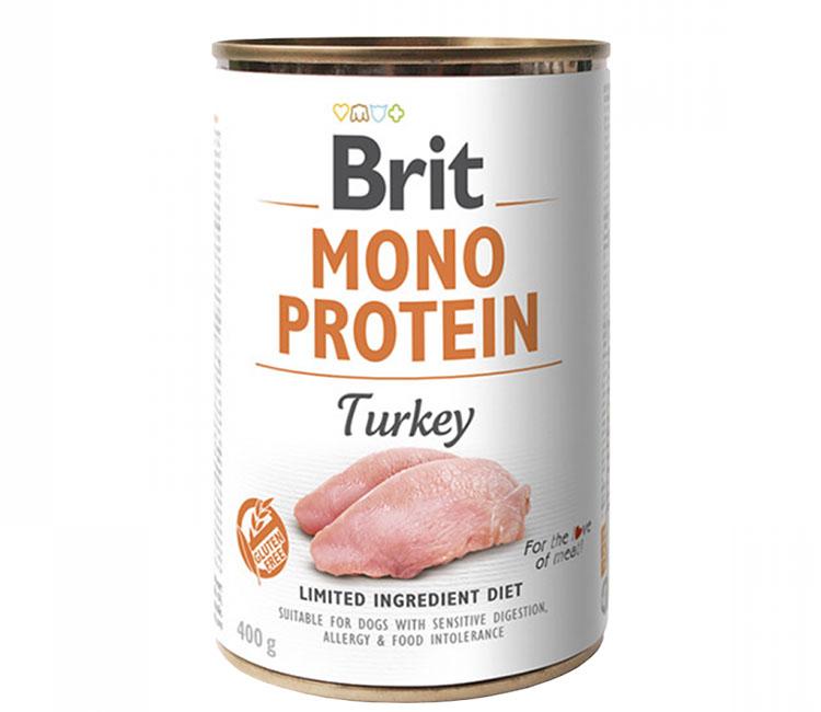 Brit mono protein dog wet food