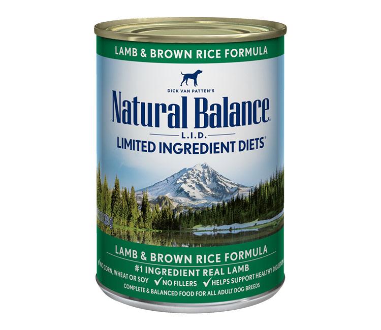 Natural balance dog wet food