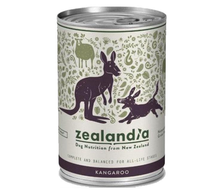 Zealandia dog wet food
