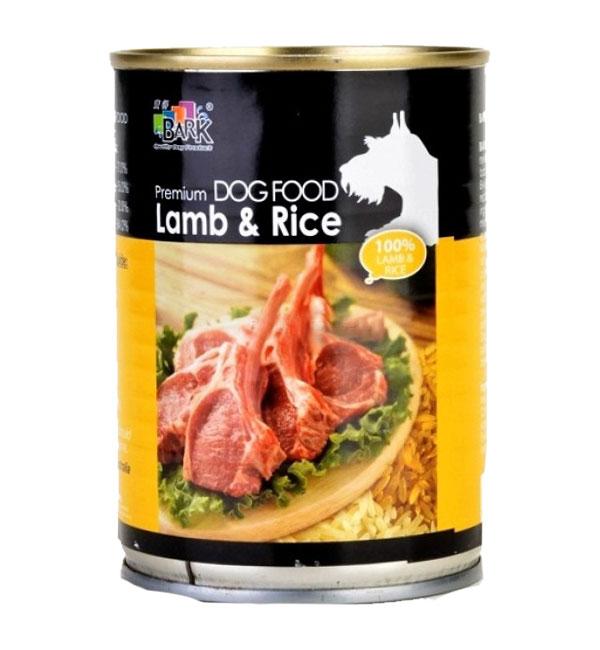 bark_lamb_rice Dog Canned food