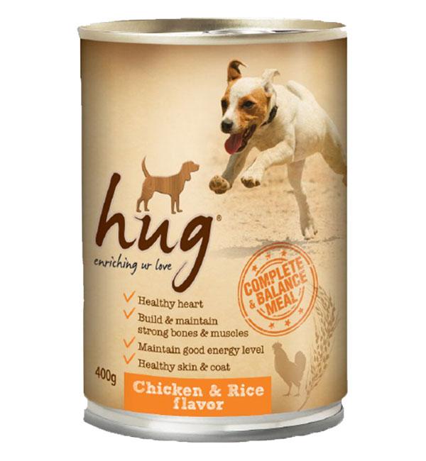 hug Dog Canned food