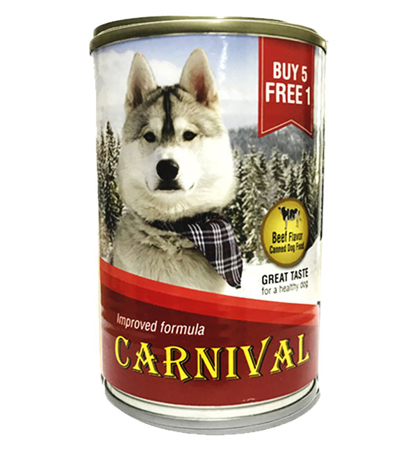 CArnival Dog Canned food