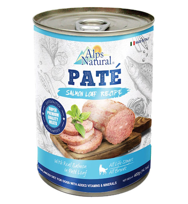 Alps natural pate Dog Canned food